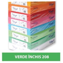 Hartie colorata A4 80g Favini 208 - verde inchis
