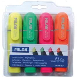 marker evidentiator milan set 4 culori