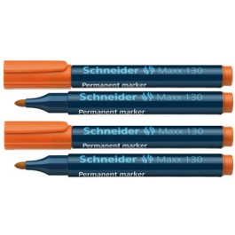 marker permanent schneider maxx 130 orange