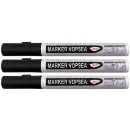 marker vopsea neagra daco