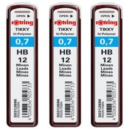 Mine creion mecanic Rotring 0.7mm HB