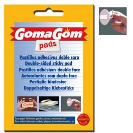 Pastile dublu adezive GommaGom 25buc 20mm x 14mm
