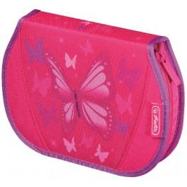 Penar echipat  26 piese Herlitz Flexi Butterfly