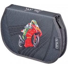 Penar echipat  26 piese Herlitz Flexi Motorbike
