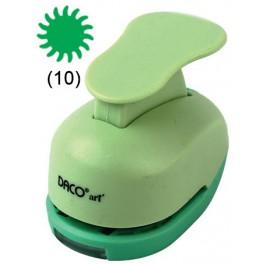 Perforator cu model 1.8 cm Soare cu dinti (10)