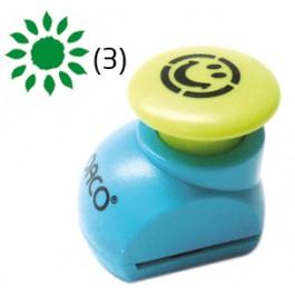 perforator cu model floarea soarelui