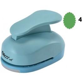 Perforator cu model 7.6 cm - Etichete ovala (4)