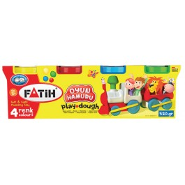 Plastilina usoara Modeling Dough Fatih 4x130g