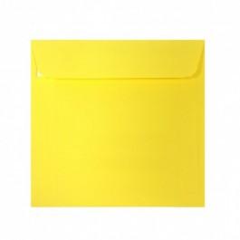 Plic colorat patrat 14x14 galben