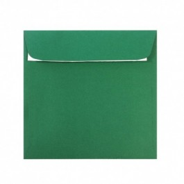 Plic colorat patrat 14x14 verde padure