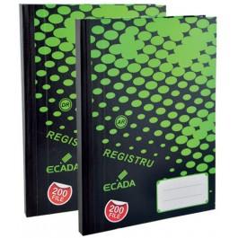 Registru A4 200 file Ecada - dictando