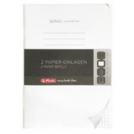 Rezerva My.Book Flex Herlitz A5 40 file 10 buc - matematica