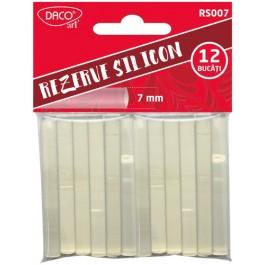 Rezerve silicon 7mm 12 bucati