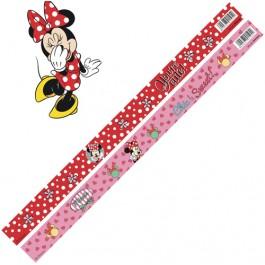 Rigla 30 cm Minnie Mouse