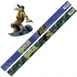Rigla 30 cm Ninja Turtles