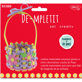 Set creativ De-mpletit Daco