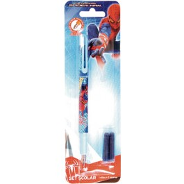 Stilou scolar iridium Spiderman, 2 patroane