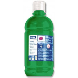 tempera milan Verde Inchis 500ml
