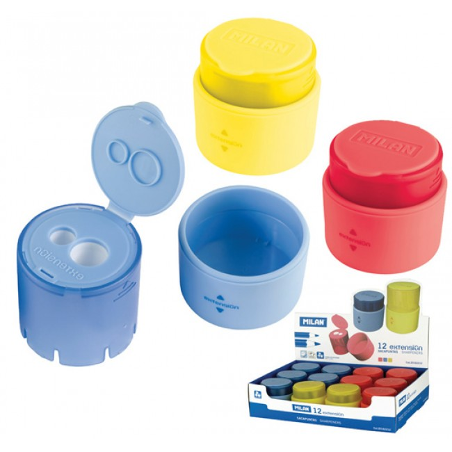 Ascutitoare dubla cu container extension milan for Extension container