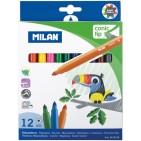 Carioci Milan 12 culori varf conic