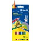 Creioane colorate Pelikan 12 culori