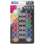 Culori tempera borcan Milan 14 culori 5ml