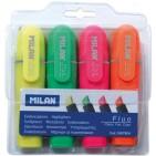 Marker evidentiator Milan 4 culori/set
