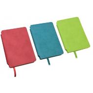 Agenda nedatata A5 160 pagini Daco AN501 - verde, albastru, rosu