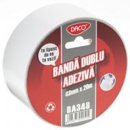 Banda adeziva dubla 48x20 Daco