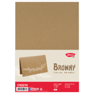 Carton natur Browny DacoArt 10 coli