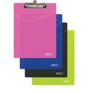 Clipboard plastic simplu A4 Daco - albastru