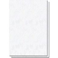 coperta carton imitatie piele alb