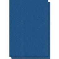 coperta carton imitatie piele albastru