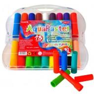 Creioane colorate pastel acuarela AquaPastel Daco 18 culori