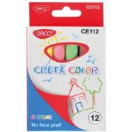 creta colorata daco 12 bucati