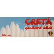 Creta scolara alba 100buc