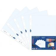 Folie protectie documente cristal A4 Daco Regal 75 microni 50 buc/set