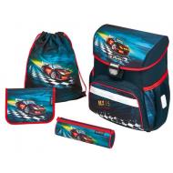 Ghiozdan echipat Herlitz Loop Plus Super Racer