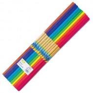 Hartie creponata colorata Daco 10 culori/set