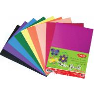 Hartie gumata embosata DacoArt 10 culori set