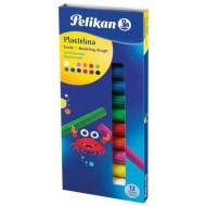 Plastilina Pelikan 12 culori