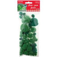 Pom Pom Festiv DacoArt - verde