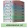 Carton colorat A4 160g Favini 107 - verde deschis