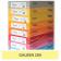 Carton colorat A4 160g Favini 200 - galben