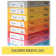 Carton colorat A4 160g Favini 202 - galben mediu