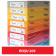 Carton colorat A4 160g Favini 209 - rosu