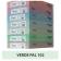 Hartie colorata A4 80g Favini 102 - verde pal