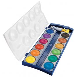 Acuarele pastile Pelikan K12 12 culori  tub alb