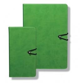 agenda a6 nedatata verde