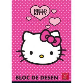 bloc desen a4 160g hello kitty